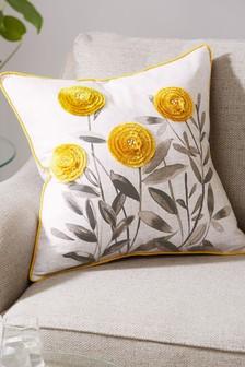 Poduszka w kwiatki