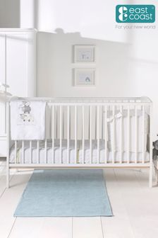 Hudson Cot Bed WhIte By East Coast