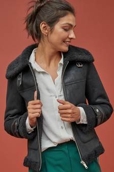 Short Aviator Jacket
