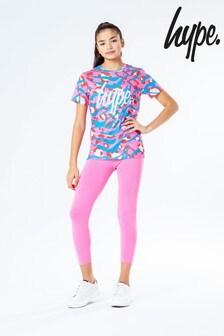 Hype. T-Shirt And Leggings Set