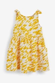 Cotton Bow Strap Dress (3mths-7yrs)