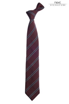 Signature Italian Fabric Tie