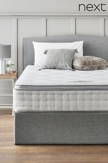 1500 Pocket Sprung With Memory Foam Pillowtop Medium Mattress
