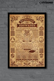 Pyramid International Harry Potter Framed Poster
