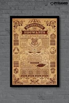 Pyramid International Harry Potter Framed Poster