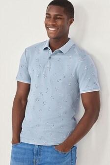 Print Polo Shirt