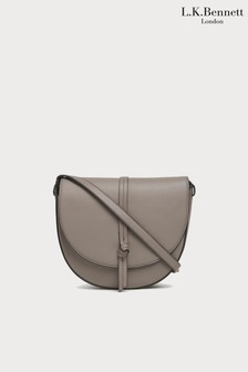 L.K.Bennett Brown Bluebell Shoulder Bag