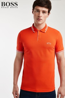 BOSS Orange Paul Curved Polo