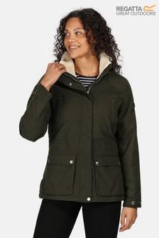 Regatta Green Loretta Waterproof Jacket