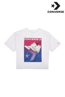 Converse White Gradient Chuck Stance T-Shirt