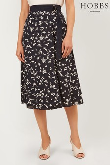 Hobbs Blue Scarlett Skirt