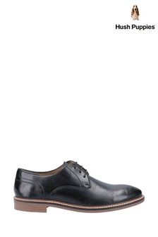 Hush Puppies Black Brayden Shoes