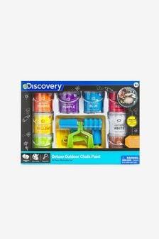 Discovery Washable Sidewalk Chalk Paint Powder Super 8 Piece Set