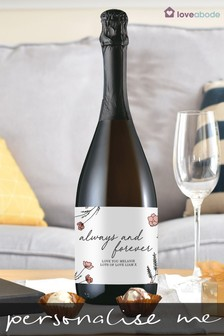 Personalised Always & Forever Prosecco by Signature PG