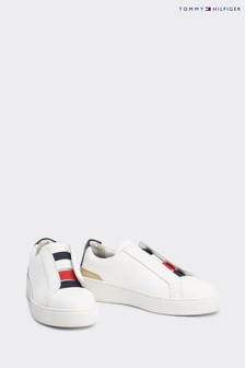 Tommy Hilfiger White Chunky Sole Trainers