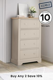Hampton Country Luxe 4 Drawer Chest