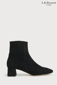 L.K.Bennett Adrianna Stitching Ankle Boots