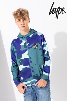 Hype. Kids Forest Camo Track Hoody