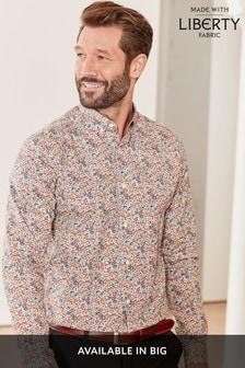 Liberty Ditsy Floral Regular Fit  Long Sleeve Shirt