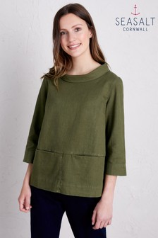 Seasalt Green Polarising Dark Creek Top