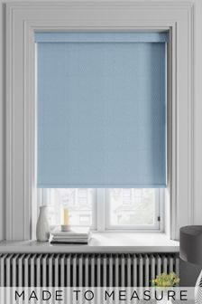Arden Marina Blue Made To Measure Blackout Roller Blind