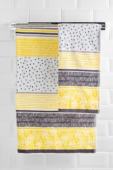 Jacquard Stripe Towel