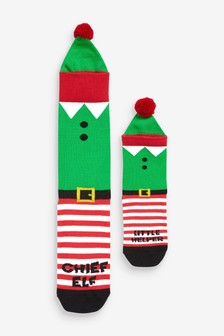 Elf Socks Two Pack