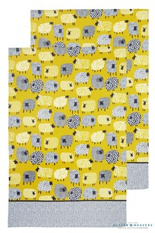 Set of 2 Ulster Weavers Dotty Sheep Tea Towels