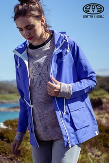 Animal Amparo Blue Byron Lightweight Jacket