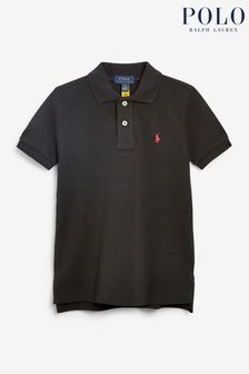 Ralph Lauren Black Logo Polo
