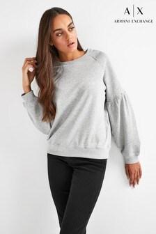 Armani Exchange Stud Sleeve Sweatshirt