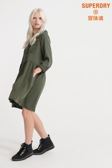 Superdry Military Shirt Dress
