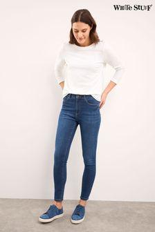 White Stuff Blue Skinny Jeans