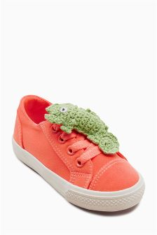 Character Lace-Up Trainers (Younger)