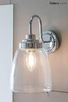 Gallery Direct Silver Taro Wall Light