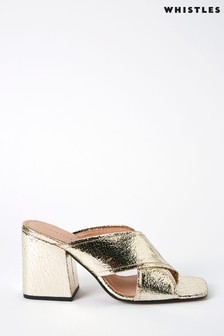 Whistles Ayres Cross Strap Sandals