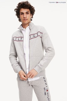 Tommy Hilfiger Grey Logo Full Zip Jacket
