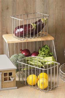 Set of 3 Malvern Storage Baskets