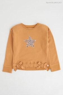 Angel & Rocket Yellow Star Sweater