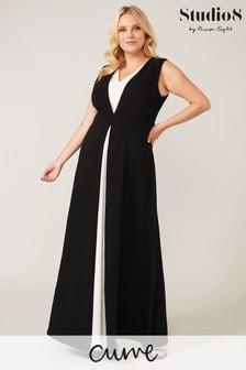 Studio 8 Black Addy Maxi Dress