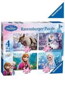 Ravensburger Disney Frozen 4 in a Box 12, 16, 20, 24 Piece Jigsaws