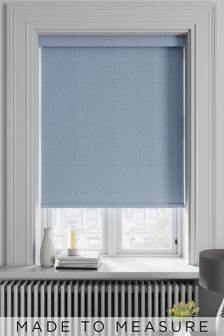 Periwinkle Blue Arden Made To Measure Blackout Roller Blind