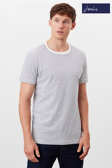 Joules Cream Boathouse Stripe T-Shirt