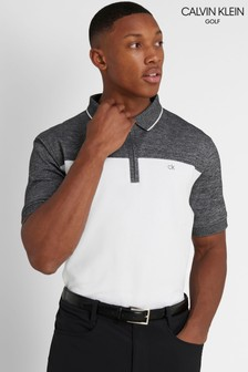 Calvin Klein Golf White Morris Polo