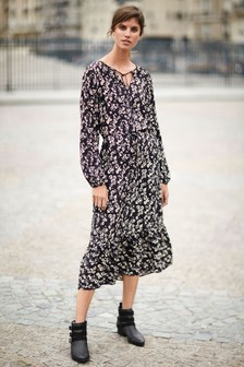 Midi Tiered Dress