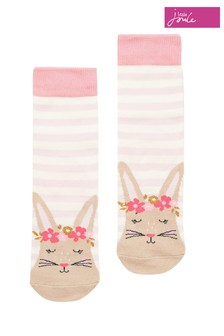 Joules Pink Neat Feet Single Pack Socks
