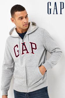 Gap Classic Logo Zip Through Hoodie