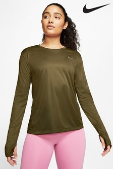 Nike Miler Long Sleeved Running Top