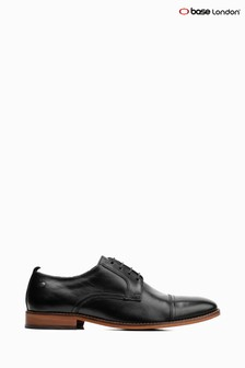 Base London® Black Trailer Lace-Up Shoe