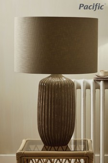 Aphaia Textured Stoneware Table Lamp by Pacific Lifestyle